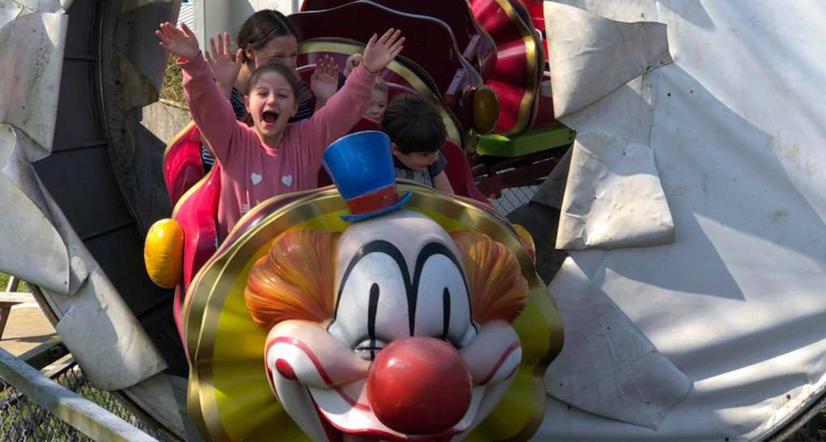 Clown Coaster