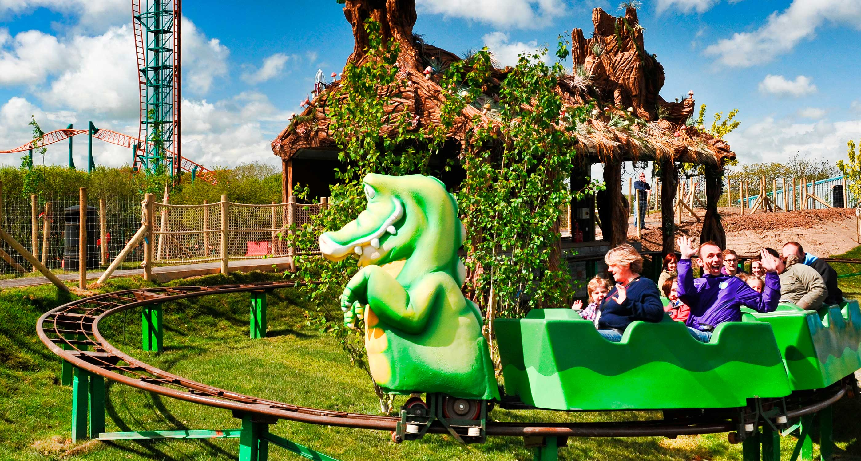 Crocodile Coaster